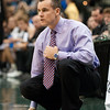Photo by Tim Darby <br /> <br /> Billy Donovan watches from the sideline at the University of Florida vs. University of Central Florida Basketball game at the Veterans Memorial Arena in Jacksonville, FL on December 20, 2008.