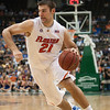 Photo by Tim Darby <br /> <br /> Dan Werner drives to the basket at the University of Florida vs. University of Central Florida Basketball game at the Veterans Memorial Arena in Jacksonville, FL on December 20, 2008.