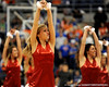photo by Casey Brooke Lawson<br /> <br /> The Dazzlers perform during a halftime show. The Gators beat the Georgia Southern Eagles 88 to 81 at the O'Connell Center in Gainesville, Fla. on December 22, 2008.