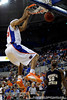 photo by Casey Brooke Lawson<br /> <br /> Florida sophomore forward Alex Tyus scores for the Gators over Georgia Southern guard Willie Powers. The Gators beat the Eagles 88 to 81 at the O'Connell Center in Gainesville, Fla. on December 22, 2008.