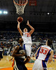 photo by Casey Brooke Lawson<br /> <br /> Florida sophomore forward Chandler Parsons scores over a Georgia Southern player. The Gators beat the Eagles 88 to 81 at the O'Connell Center in Gainesville, Fla. on December 22, 2008.