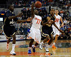 photo by Casey Brooke Lawson<br /> <br /> Florida freshman guard Erving Walker loses grip on the ball during the first half of the Gators game against Georgia Southern. The Gators beat the Eagles 88 to 81 at the O'Connell Center in Gainesville, Fla. on December 22, 2008