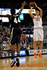 photo by Casey Brooke Lawson<br /> <br /> Florida sophomore forward Chandler Parsons shoots over Georgia Southern forward Trumaine Pearson. The Gators beat the Eagles 88 to 81 at the O'Connell Center in Gainesville, Fla. on December 22, 2008