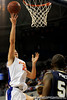 photo by Casey Brooke Lawson<br /> <br /> Florida sophomore forward Chandler Parsons scores for the Gators in the second half of the Gators game against Georgia Southern. The Gators beat the Eagles 88 to 81 at the O'Connell Center in Gainesville, Fla. on December 22, 2008