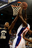 photo by Casey Brooke Lawson<br /> <br /> Florida freshman guard/forward Ray Shipman scores over Georgia Southern forward Tyler Troupe. The Gators beat the Eagles 88 to 81 at the O'Connell Center in Gainesville, Fla. on December 22, 2008