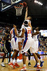 photo by Casey Brooke Lawson<br /> <br /> Florida sophomore forward Chandler Parsons scores for the Gators in the first half. The Gators beat the Georgia Southern Eagles 88 to 81 at the O'Connell Center in Gainesville, Fla. on December 22, 2008