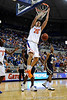 photo by Casey Brooke Lawson<br /> <br /> Florida sophomore forward Chandler Parsons scores for the Gators in the first half of their game against Georgia Southern. The Gators beat the Eagles 88 to 81 at the O'Connell Center in Gainesville, Fla. on December 22, 2008