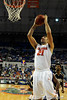 photo by Casey Brooke Lawson<br /> <br /> Florida junior forward Dan Werner shoots for the Gators in their game against Georgia Southern. The Gators beat the Eagles 88 to 81 at the O'Connell Center in Gainesville, Fla. on December 22, 2008.