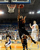 Miami guard Lance Hurdle scores during the first half of the Florida Gators' game against the Miami Hurricanes on Friday, March 20, 2009 in Gainesville, Fla. / Gator Country photo by Casey Brooke Lawson