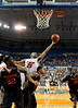 UF forward Alex Tyus attempts to grab a rebound during the second half of the Florida Gators' game against the Miami Hurricanes on Friday, March 20, 2009 in Gainesville, Fla. / Gator Country photo by Casey Brooke Lawson
