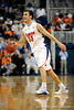 UF forward Nick Calathes moves the ball downcourt during the first half of the Florida Gators' game against the Miami Hurricanes on Friday, March 20, 2009 in Gainesville, Fla. / Gator Country photo by Casey Brooke Lawson