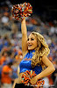 A UF Dazzler performs during the first half of the Florida Gators' game against the Miami Hurricanes on Friday, March 20, 2009 in Gainesville, Fla. / Gator Country photo by Casey Brooke Lawson