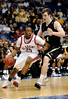 Alabama guard Andrew Steele moves the ball past a Vanderbilt player during the Alabama Crimson Tide 82-75 victory over the Vanderbilt Commodores on Thursday, March 12, 2009 in the St. Pete Times Forum. / Gator Country photo by Casey Brooke Lawson