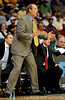 Vanderbilt Head Coach yells at his team during the Alabama Crimson Tide 82-75 victory over the Vanderbilt Commodores on Thursday, March 12, 2009 in the St. Pete Times Forum. / Gator Country photo by Casey Brooke Lawson