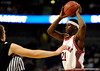 Alabama guard Senario Hillman prepares to pass the ball during the Alabama Crimson Tide 82-75 victory over the Vanderbilt Commodores on Thursday, March 12, 2009 in the St. Pete Times Forum. / Gator Country photo by Casey Brooke Lawson