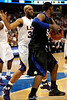 Kentucky's Ramon Hines moves the ball during the LSU Tigers 67-58 victory over the Kentucky Wildcats on Friday, March 13, 2009 in the St. Pete Times Forum. / Gator Country photo by Casey Brooke Lawson