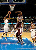 A South Carolina player grabs a rebound during the second half of the Mississippi State Bulldogs 82-68 victory over the South Carolina Gamecocks on Friday, March 13, 2009 in the St. Pete Times Forum. / Gator Country photo by Casey Brooke Lawson