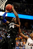 Kentucky's Patrick Patterson scores over LSU forward Tasmin Mitchell during the LSU Tigers 67-58 victory over the Kentucky Wildcats on Friday, March 13, 2009 in the St. Pete Times Forum. / Gator Country photo by Casey Brooke Lawson
