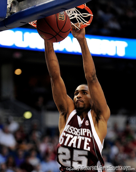 MSU guard Phil Turner scores during the second half of the Mississippi State Bulldogs 82-68 victory over the South Carolina Gamecocks on Friday, March 13, 2009 in the St. Pete Times Forum. / Gator Country photo by Casey Brooke Lawson