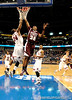 MSU forward jarvis Varnado scores during the second half of the Mississippi State Bulldogs 82-68 victory over the South Carolina Gamecocks on Friday, March 13, 2009 in the St. Pete Times Forum. / Gator Country photo by Casey Brooke Lawson