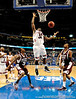 South Carolina center Mike Holmes reaches for a rebound during the second half of the Mississippi State Bulldogs 82-68 victory over the South Carolina Gamecocks on Friday, March 13, 2009 in the St. Pete Times Forum. / Gator Country photo by Casey Brooke Lawson