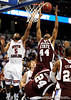 MIssissippi State forward Brian Johnson reaches for the ball during the first half of the Mississippi State Bulldogs game against the South Carolina Gamecocks on Friday, March 13, 2009 in the St. Pete Times Forum. / Gator Country photo by Casey Brooke Lawson
