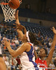 photo by Tim Casey<br /> <br /> Florida senior forward Marshae Dotson scores on a layup during the Gators' 61-45 win against the Georgia Bulldogs on Sunday, January 18, 2009 at the Stephen C. O'Connell Center in Gainesville, Fla.