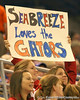 photo by Tim Casey<br /> <br /> A fan displays a sign during the Gators' 61-45 win against the Georgia Bulldogs on Sunday, January 18, 2009 at the Stephen C. O'Connell Center in Gainesville, Fla.