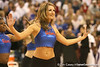 photo by Tim Casey<br /> <br /> The Dazzlers perform during the Gators' 61-45 win against the Georgia Bulldogs on Sunday, January 18, 2009 at the Stephen C. O'Connell Center in Gainesville, Fla.