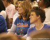 photo by Tim Casey<br /> <br /> A Florida fan watches during the Gators' 61-45 win against the Georgia Bulldogs on Sunday, January 18, 2009 at the Stephen C. O'Connell Center in Gainesville, Fla.
