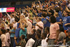 photo by Tim Casey<br /> <br /> Florida fans cheer during the Gators' 61-45 win against the Georgia Bulldogs on Sunday, January 18, 2009 at the Stephen C. O'Connell Center in Gainesville, Fla.