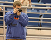photo by Tim Casey<br /> <br /> A Florida fan takes a photo during the Gators' 61-45 win against the Georgia Bulldogs on Sunday, January 18, 2009 at the Stephen C. O'Connell Center in Gainesville, Fla.