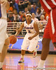 photo by Tim Casey<br /> <br /> Florida junior guard Lonnika Thompson looks to pass during the Gators' 61-45 win against the Georgia Bulldogs on Sunday, January 18, 2009 at the Stephen C. O'Connell Center in Gainesville, Fla.