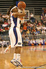 photo by Tim Casey<br /> <br /> Florida junior guard Lonnika Thompson attempts a three-pointer during the Gators' 61-45 win against the Georgia Bulldogs on Sunday, January 18, 2009 at the Stephen C. O'Connell Center in Gainesville, Fla.