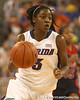 photo by Tim Casey<br /> <br /> Florida senior guard Sha Brooks leads a fast break during the Gators' 75-54 win against the Mississippi Rebels on Sunday, January 25, 2009 at the Stephen C. O'Connell Center in Gainesville, Fla.