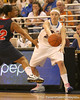 photo by Tim Casey<br /> <br /> Florida junior guard Susan Yenser passes during the Gators' 75-54 win against the Mississippi Rebels on Sunday, January 25, 2009 at the Stephen C. O'Connell Center in Gainesville, Fla.