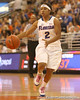 photo by Tim Casey<br /> <br /> Florida junior guard Lonnika Thompson leads a run during the Gators' 75-54 win against the Mississippi Rebels on Sunday, January 25, 2009 at the Stephen C. O'Connell Center in Gainesville, Fla.