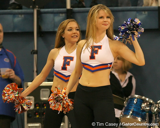 photo by Tim Casey<br /> <br /> The Dazzlers perform during the Gators' 75-54 win against the Mississippi Rebels on Sunday, January 25, 2009 at the Stephen C. O'Connell Center in Gainesville, Fla.