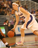 photo by Tim Casey<br /> <br /> Florida junior guard Susan Yenser dribbles the ball during the Gators' 75-54 win against the Mississippi Rebels on Sunday, January 25, 2009 at the Stephen C. O'Connell Center in Gainesville, Fla.