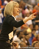 photo by Tim Casey<br /> <br /> Mississippi coach Renee Ladner during the Gators' 75-54 win against the Rebels on Sunday, January 25, 2009 at the Stephen C. O'Connell Center in Gainesville, Fla.