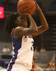 photo by Tim Casey<br /> <br /> Florida senior guard Sha Brooks attempts a jump shot during the Gators' 75-54 win against the Mississippi Rebels on Sunday, January 25, 2009 at the Stephen C. O'Connell Center in Gainesville, Fla.