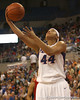photo by Tim Casey<br /> <br /> Florida senior forward Marshae Dotson shoots a layup during the Gators' 75-54 win against the Mississippi Rebels on Sunday, January 25, 2009 at the Stephen C. O'Connell Center in Gainesville, Fla.