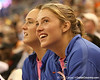 photo by Tim Casey<br /> <br /> Florida sophomore guard Jordan Jones smiles on the bench during the Gators' 75-54 win against the Mississippi Rebels on Sunday, January 25, 2009 at the Stephen C. O'Connell Center in Gainesville, Fla.