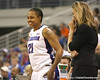 photo by Tim Casey<br /> <br /> Florida freshman guard Trumae Lucas smiles during the second half of the Gators' 74-59 win against the Kentucky Wildcats on Thursday, January 29, 2009 at the Stephen C. O'Connell Center in Gainesville, Fla.