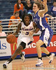 photo by Tim Casey<br /> <br /> Florida senior guard Sha Brooks dribbles towards the basket during the second half of the Gators' 74-59 win against the Kentucky Wildcats on Thursday, January 29, 2009 at the Stephen C. O'Connell Center in Gainesville, Fla.