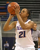 photo by Tim Casey<br /> <br /> Florida freshman guard Trumae Lucas shoots for three during the second half of the Gators' 74-59 win against the Kentucky Wildcats on Thursday, January 29, 2009 at the Stephen C. O'Connell Center in Gainesville, Fla.