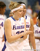 photo by Tim Casey<br /> <br /> Florida junior guard Susan Yenser walks off of the court after the Gators' 74-59 win against the Kentucky Wildcats on Thursday, January 29, 2009 at the Stephen C. O'Connell Center in Gainesville, Fla.