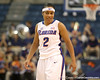 photo by Tim Casey<br /> <br /> Florida junior guard Lonnika Thompson backs up on defense during the second half of the Gators' 74-59 win against the Kentucky Wildcats on Thursday, January 29, 2009 at the Stephen C. O'Connell Center in Gainesville, Fla.