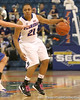 photo by Tim Casey<br /> <br /> Florida freshman guard Trumae Lucas dribbles past midcourt during the second half of the Gators' 74-59 win against the Kentucky Wildcats on Thursday, January 29, 2009 at the Stephen C. O'Connell Center in Gainesville, Fla.