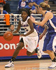 photo by Tim Casey<br /> <br /> Florida senior guard Sha Brooks drives to the basket during the second half of the Gators' 74-59 win against the Kentucky Wildcats on Thursday, January 29, 2009 at the Stephen C. O'Connell Center in Gainesville, Fla.